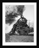 1920s 1930s Steam Engine Pulling Passenger Train Smoke Billowing From Exhaust Stack by Corbis