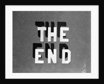 1930s The End Retro Movie Title by Corbis