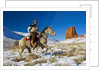 Wyoming Cowboy by Corbis