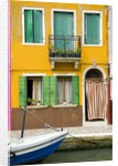 Colorful House on Burano Island by Corbis