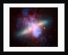 M82 Galaxy by Corbis