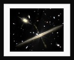 Artist's Conception of Spiral Galaxies by Corbis