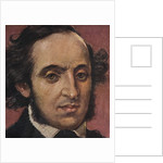 German Composer Felix Mendelssohn by Corbis