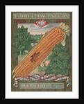Calendar Illustration of Corn by Corbis