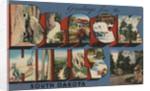 Greetings from Black Hills South Dakota Postcard by Corbis