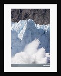 Calving Glacier in Glacier Bay National Park by Corbis