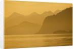 Glacier Bay National Park at Sunset by Corbis