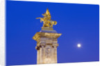 Gilded Statue of Fame and Pegasus on Pont Alexandre-III by Corbis