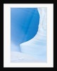 Blue Cave in Iceberg Sculpted by Waves by Corbis
