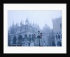 Fog Over the Basilica of San Marco in Venice by Corbis