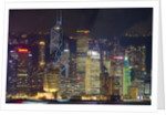 A Symphony of Lights in Hong Kong by Corbis