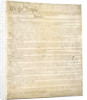 Constitution of the United States by Corbis