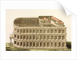 Print of Theater of Marcellus by Corbis