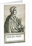 Portrait of Horace by Andre Thevet