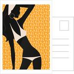 Woman Wearing Bikini by Corbis