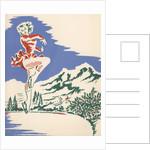 Illustration of Ice Skater by Corbis