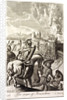 The Seige of Jerusalem Illustration by Corbis