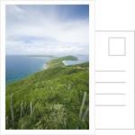 Hills and Ocean View on Virgin Gorda by Corbis
