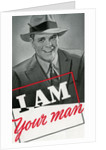 I Am Your Man Illustration by Corbis