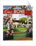 Illustration of Ideal American Home by Corbis