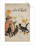 Des Chats Book Cover by Theophile Alexandre Steinlen