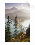Road Bridge Over Lake Sylvenstein in Bavaria by Corbis