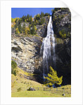 Fallbach Waterfall in Autumn by Corbis