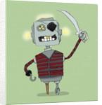 Robot Pirate by Corbis