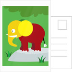Elephant In Jungle by Corbis
