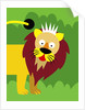 Lion King by Corbis