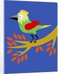 Green Bird by Corbis