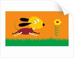 Running Dog by Corbis