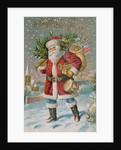 A Bright Christmas Postcard by Corbis