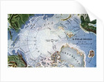 Map of Peary's North Pole Expedition by Corbis