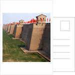 Walls of the Pingyao ancient city by Corbis