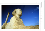 Pompey's Pillar and Sphinx by Corbis