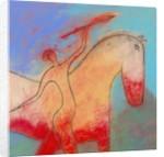 Spear Beside a Horse by Corbis