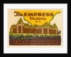 The Empress Luggage label by Corbis