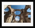 Arches in old cathedral ruins in Antigua in Guatemala by Corbis