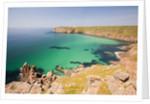 Cornish coastal scenery by Corbis