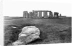 Slaughter Stone at Stonehenge by Corbis