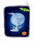 Cute Little Ghost by Corbis
