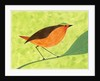 A Robin on a Branch by Corbis