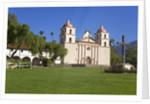 Old Mission Santa Barbara by Corbis