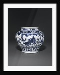 Blue and white Yuan dynasty Guan by Corbis