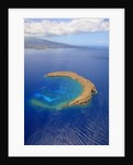 Molokini Crater off the coast of Maui by Corbis