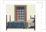 Bedroom in winter by Corbis