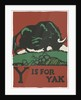Y is for yak by Corbis