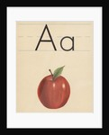 A is for apple by Corbis