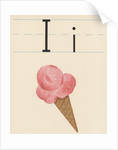 I is for ice cream by Corbis